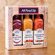 Cottage Delight All Fired Up Hot Sauces Gift Pack