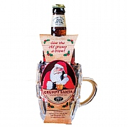 Cottage Delight Grumpy Santa Beer & Tankard