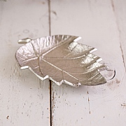 Ornate Metal Leaf Tray