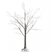 Lumineo 150cm Micro LED Brown Birch Tree