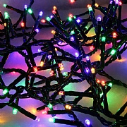 1000 Multi Colour LED Compact Lights (Green Cable)