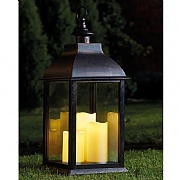 Vienna Bronze Battery Operated Candle Lantern