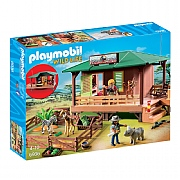 Playmobil Wild Life Ranger Station with Animal Area