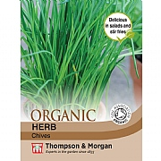 Thompson & Morgan Herb Chives (Organic) Seeds