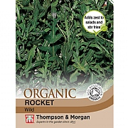 Thompson & Morgan Herb Rocket Wild (Organic) Seeds