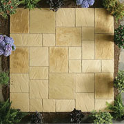 Abbey Paving Random Patio Kit 5.76sqm - 2 Colours Available