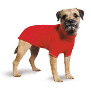 Muddy Paws Cable Knit Sweater (Red) - 4 Sizes