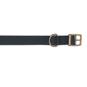 Ancol Black Nylon Dog Collar - Various Sizes