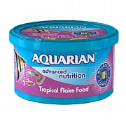 Aquarian Tropical Fish Food Flakes