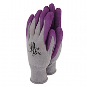 Town & Country Weedmaster Bamboo Hypo-Allergenic Gloves Grape (Various Sizes)