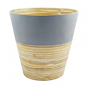 Bamboo Planter Grey - Various Sizes