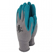 Town & Country Weedmaster Bamboo Hypo-Allergenic Gloves Teal (Various Sizes)