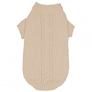 Banbury & Co Knitted Dog Jumper Ivory