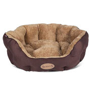 Scruffs Chocolate Cashmere Donut Dog Bed