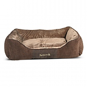 Scruffs Chester Box Dog Bed Chocolate - Various Sizes