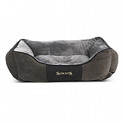 Scruffs Chester Box Dog Bed Graphite - Various Sizes