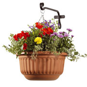 Corinthian Self Watering Hanging Basket - 2 Colours Available