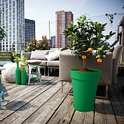 Elho Loft Urban High Round Pot 42cm - Various Colours