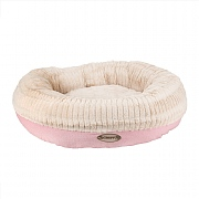 Scruffs Ellen Donut Bed Pink - Various Sizes
