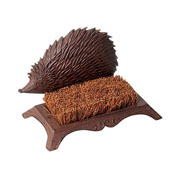Cast Iron Hedgehog Bootbrush