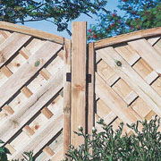 "4"" Wooden Fence Post -  3 heights available"