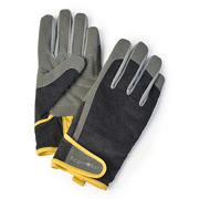 Burgon & Ball Dig The Glove Slate Corduroy Gardening Gloves