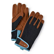Burgon & Ball Dig The Glove Denim Gardening Gloves
