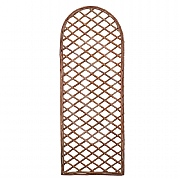 Curved Top Framed Willow Trellis Panels - 2 Sizes Available