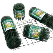 Traditional Green Border Fence - 4 sizes