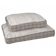 Zoon Grey Plaid Gusset Mattress (Various Sizes Available)