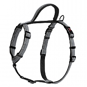 Halti Nylon Walking Harness Black