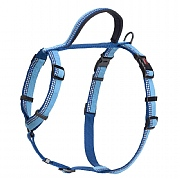 Halti Nylon Walking Harness Blue