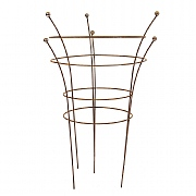 Tom Chambers Herbaceous Support Twin Pack Rust (Various Sizes)