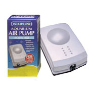 Aquarium Air Pump with Plug - 2 Sizes Available
