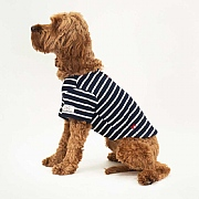 Joules Navy & Cream Stripe Harbour Dog Top