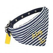 Joules Ahoy Bandana Pet Collar - Various Sizes