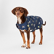 Joules Coastal Dog Print Rain Jacket Pet Coat - Various Sizes