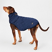 Joules Newdale Quilted Pet Coat French Navy - Various Sizes
