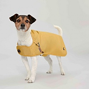 Joules Rain Jacket Antique Gold Pet Coat - Various Sizes