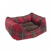 Joules Tweed Percher Square Pet Bed - Various Sizes
