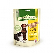 James Wellbeloved Crackerjacks Dog Treats Lamb 225g