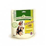 James Wellbeloved MiniJacks Dog Treats Lamb 90g