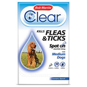 Bob Martin Clear Fleas & Ticks Spot On for Medium Dogs