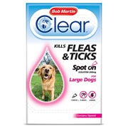 Bob Martin Clear Fleas & Ticks Spot On for Large Dogs