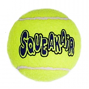 Kong Air Squeaker Tennis Ball Dog Toy - Various Sizes