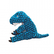 Kong Dynos T-Rex Dog Toy Blue - Various Sizes