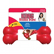 Kong Goodie Bone Dog Toy Red - Various Sizes