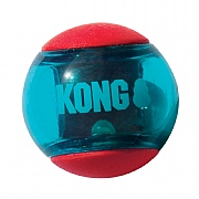 Kong Squeezz Action Dog Toy - Red - Various Sizes