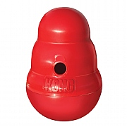 Kong Wobbler Dog Toy Red - Various Sizes