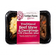 Lodge Farm Beef Stew & Dumplings